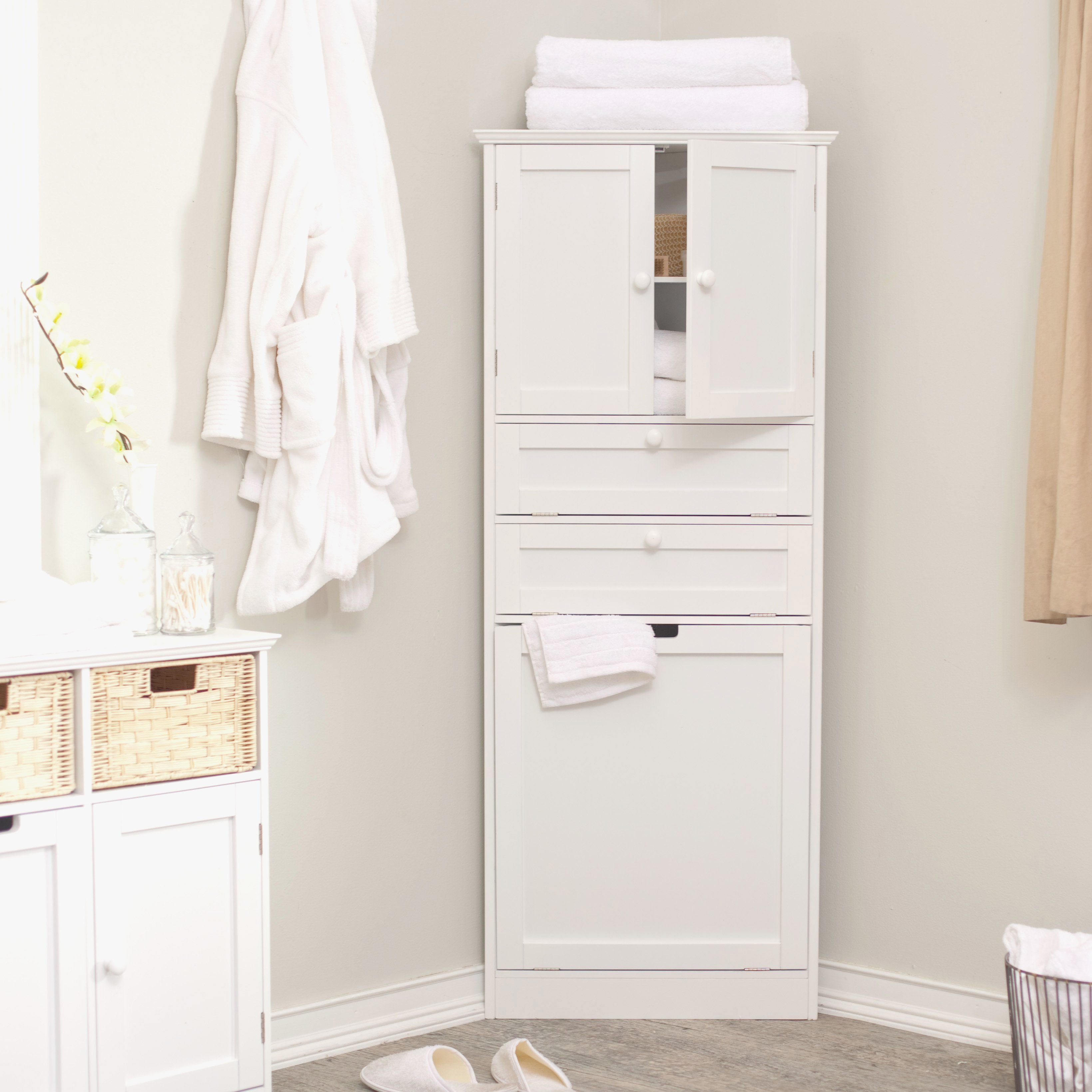 Bathroom Corner Storage Cabinet Modern Bathroom Corner inside proportions 3279 X 3279