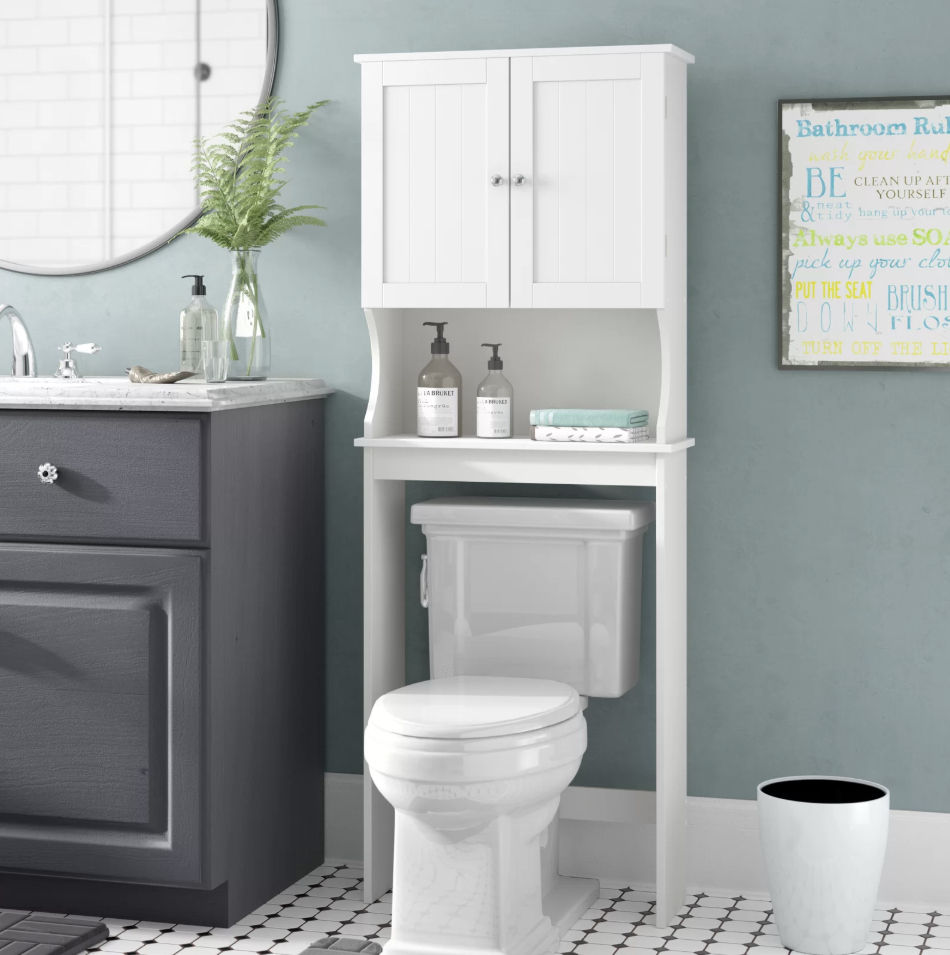 Bathroom Decor Mistakes Over The Toilet Storage The Diy within sizing 950 X 955
