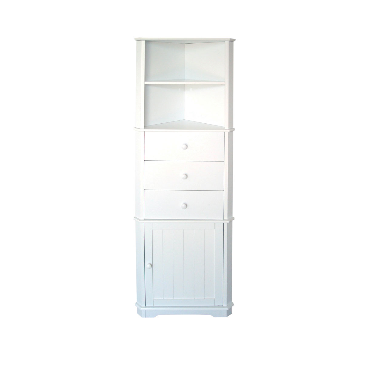 Bathroom Interesting White Wooden Bathroom Corner Shelf Unit for measurements 1280 X 1280