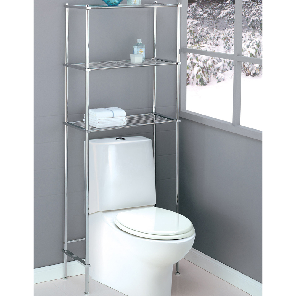 Bathroom Over Toilet Space Saver with dimensions 1000 X 1000