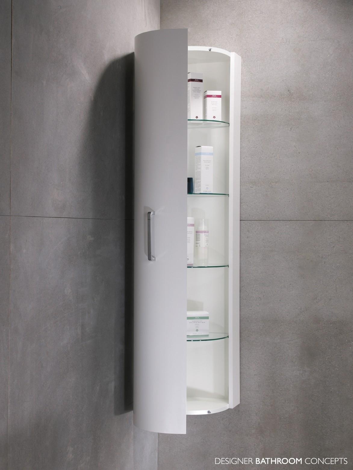 Bathroom Slim Wall Mounted Bath Cabinet Bathroom Cabinets regarding proportions 1173 X 1562