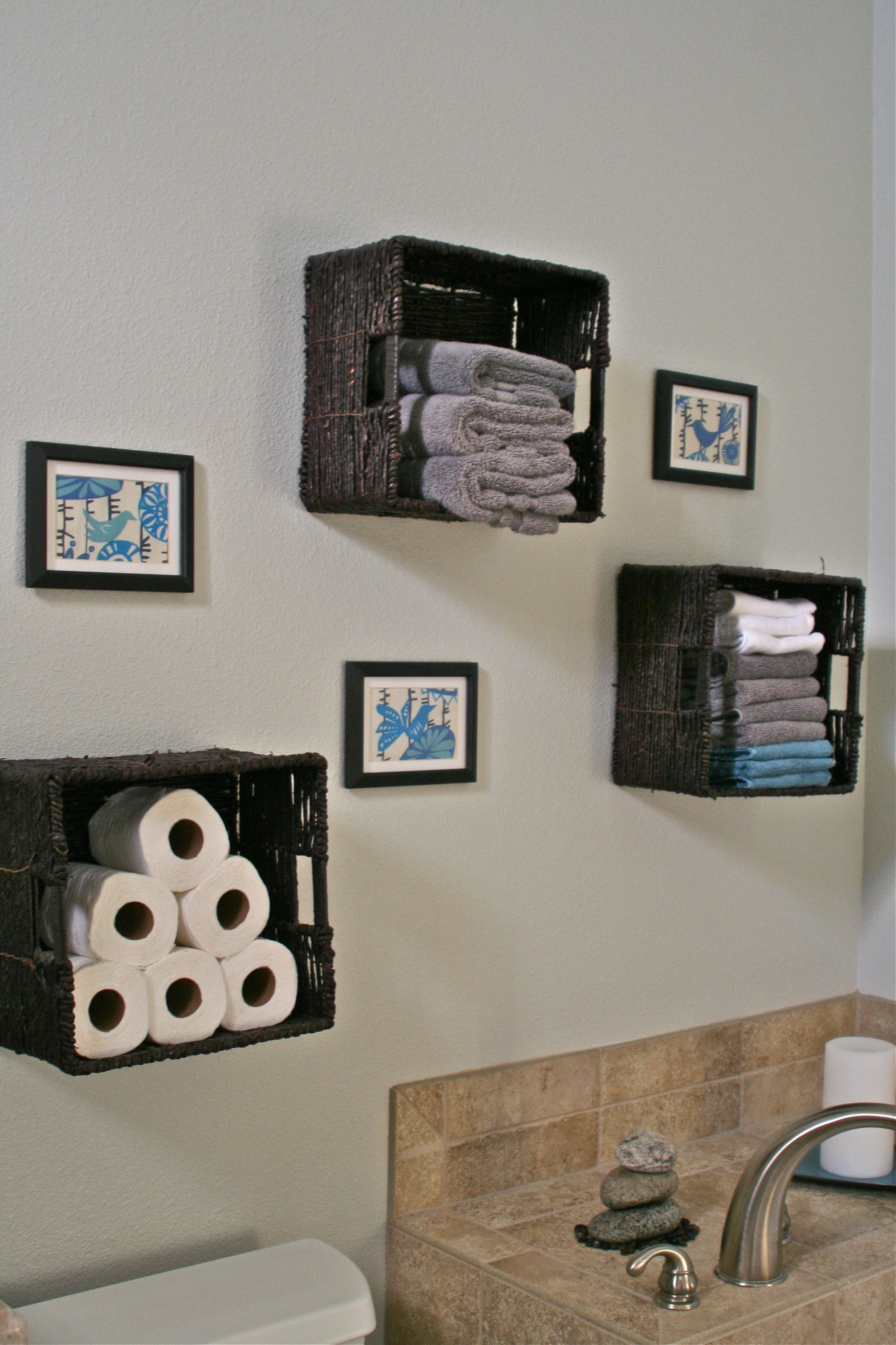 Bathroom Storage Baskets For Towels Toilet Paper Etc Love with regard to proportions 2304 X 3456