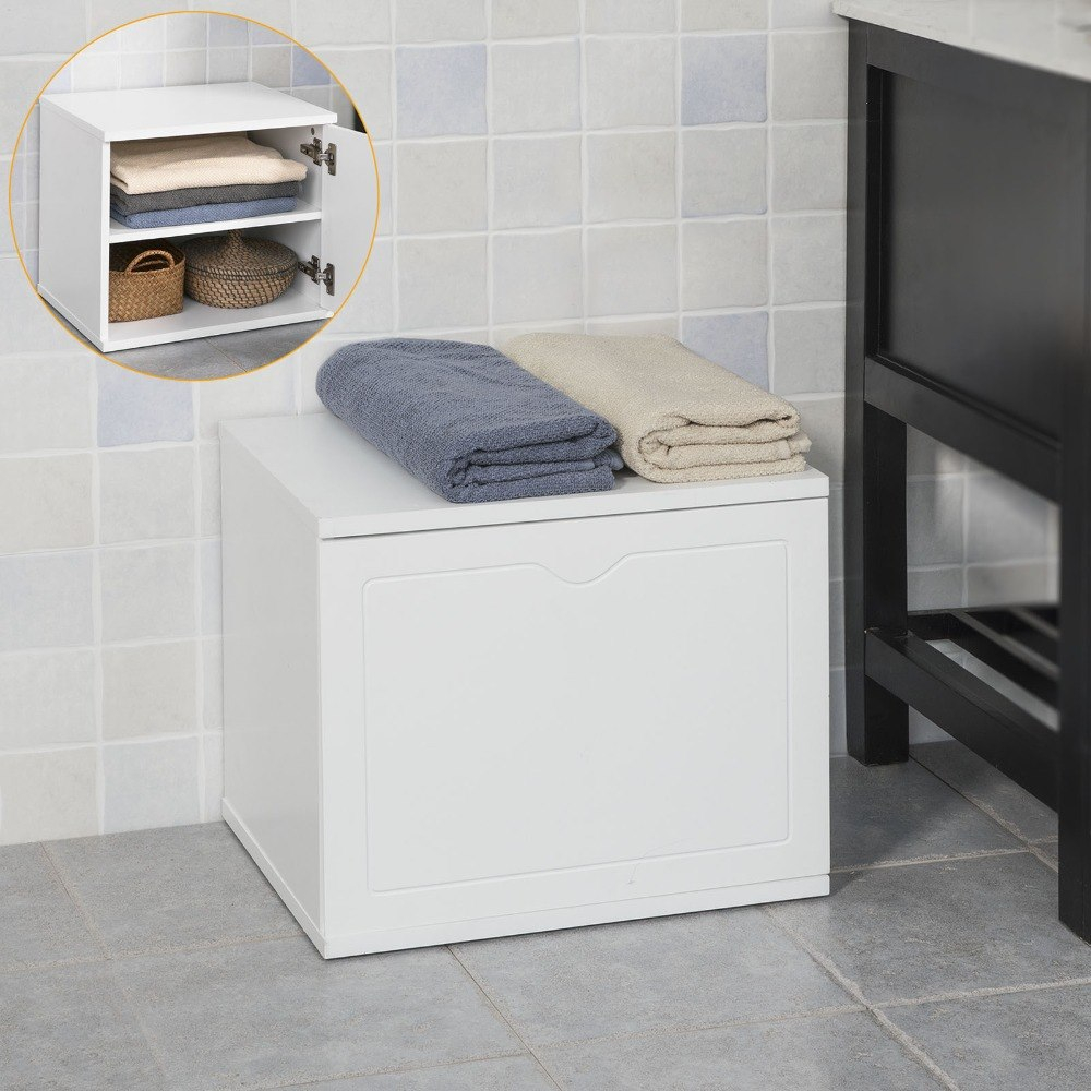 Bathroom Storage Bench For Home Ideas Johnbonham Memorialfund pertaining to dimensions 1000 X 1000