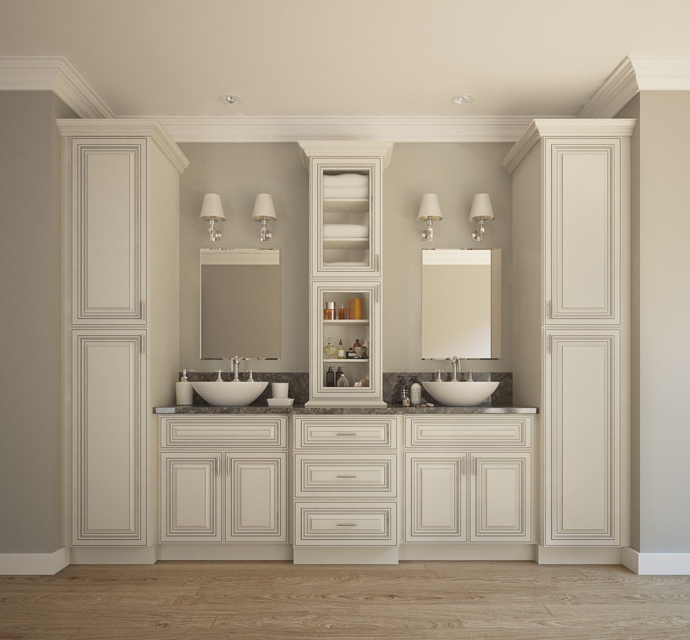Bathroom Storage Cabinet Large Smart Ideas For Bathroom inside proportions 1400 X 1300