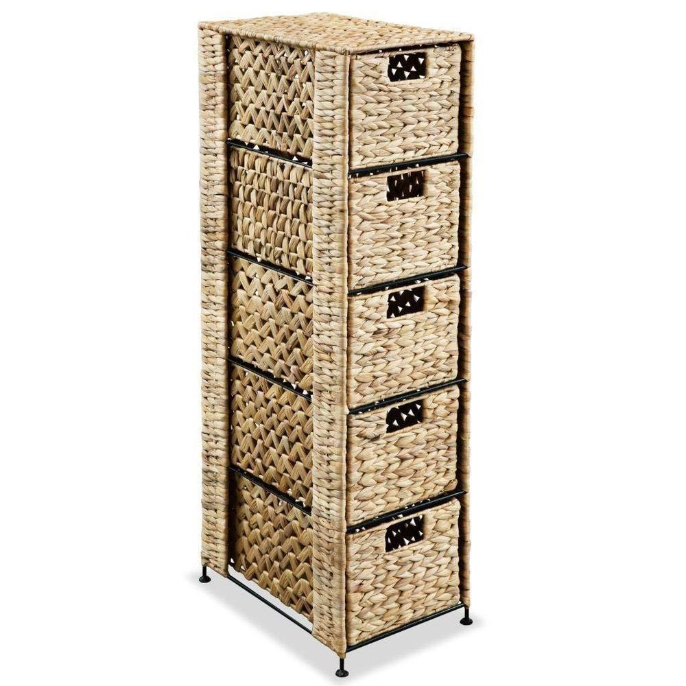 Bathroom Storage Unit Bed Room 5 Baskets Drawer Cabinet in measurements 1000 X 1000