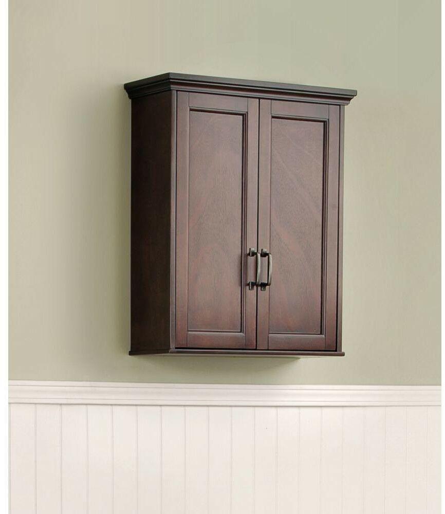 Bathroom Storage Wall Cabinet Mahogany Ashburn 23 12 In Wide Bath Vanity in proportions 866 X 1000