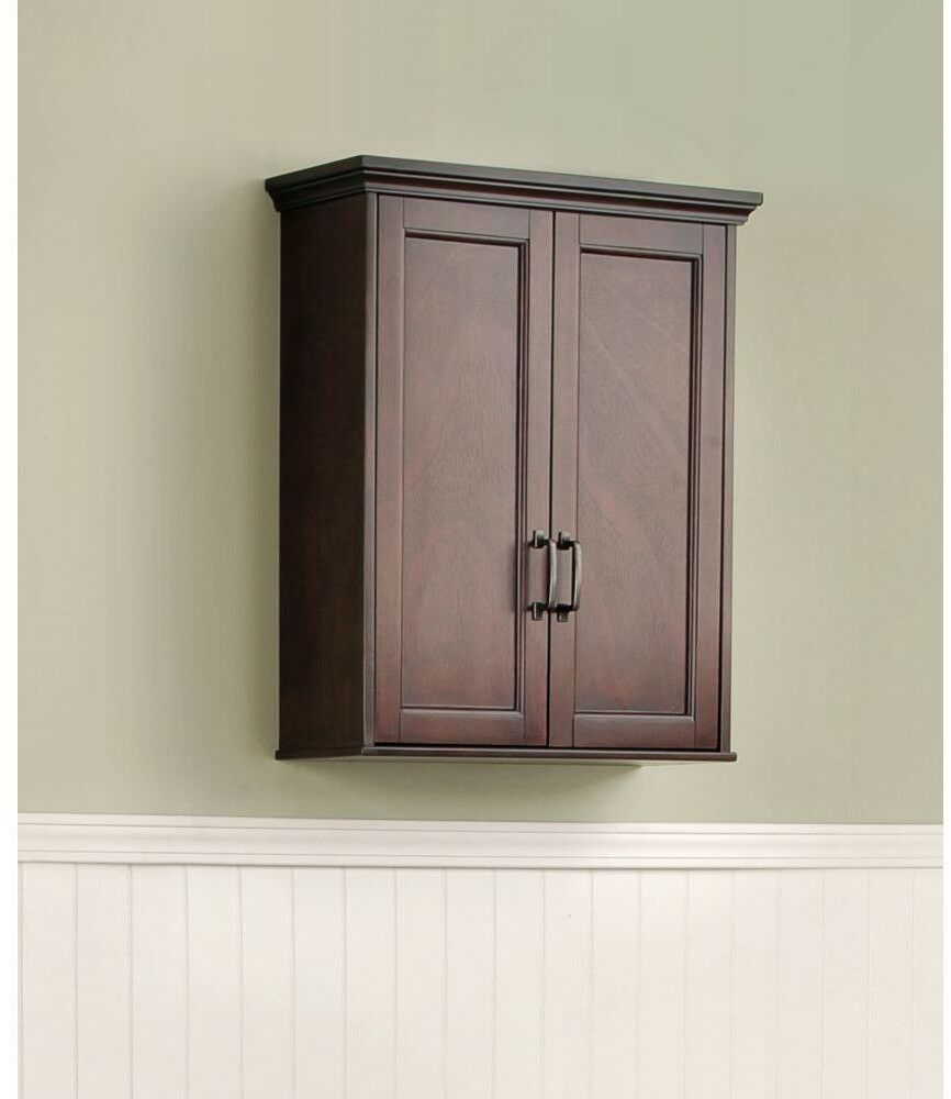 Bathroom Storage Wall Cabinet Mahogany Ashburn 23 12 In Wide Bath Vanity inside sizing 866 X 1000