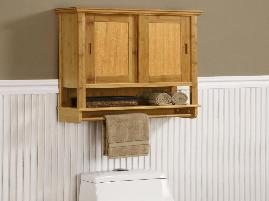 Bathroom Storage Wall Cabinet With Towel Bar Great within measurements 1024 X 768