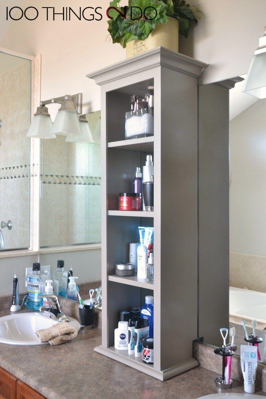 Bathroom Vanity Storage Bathroom Storage Tower Projects regarding dimensions 900 X 1350