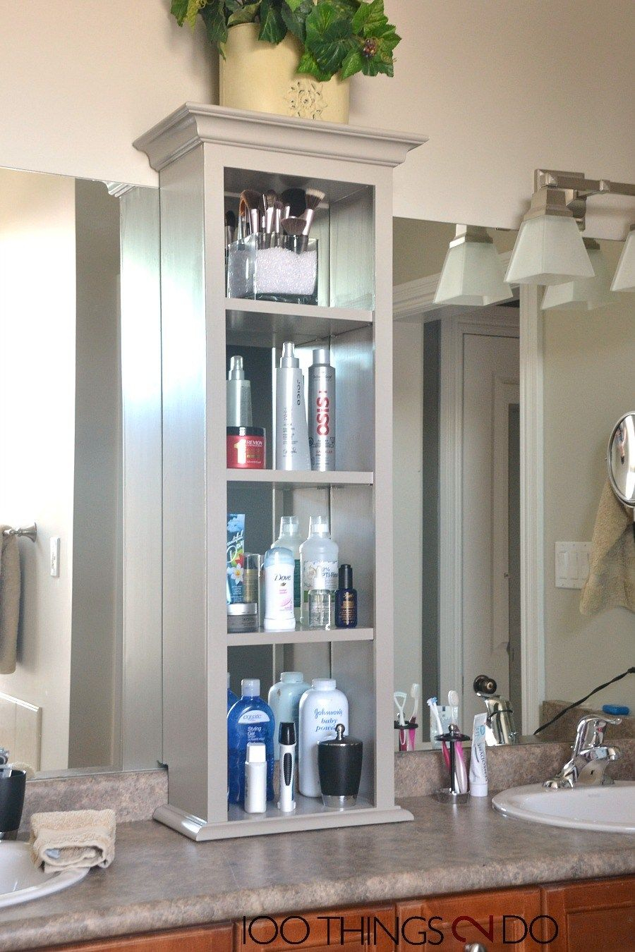 Bathroom Vanity Storage Bathroom Storage Tower with regard to proportions 900 X 1350