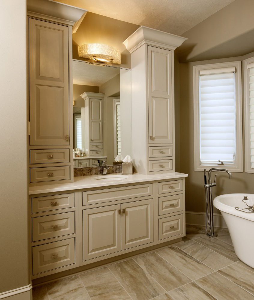 Bathroom Vanity With Storage Cabinets Galleries Projects with regard to sizing 846 X 1000