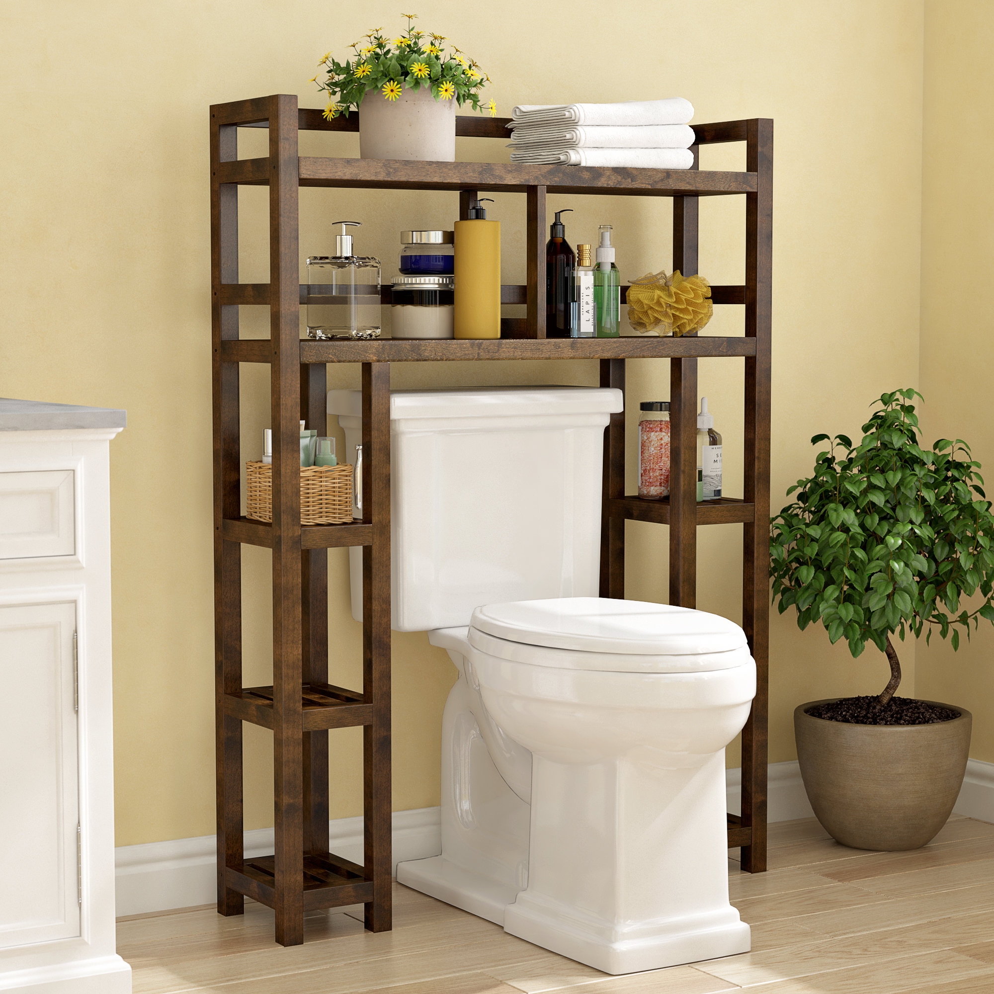 Bernardston 3446 W X 48 H Over The Toilet Storage with sizing 2000 X 2000