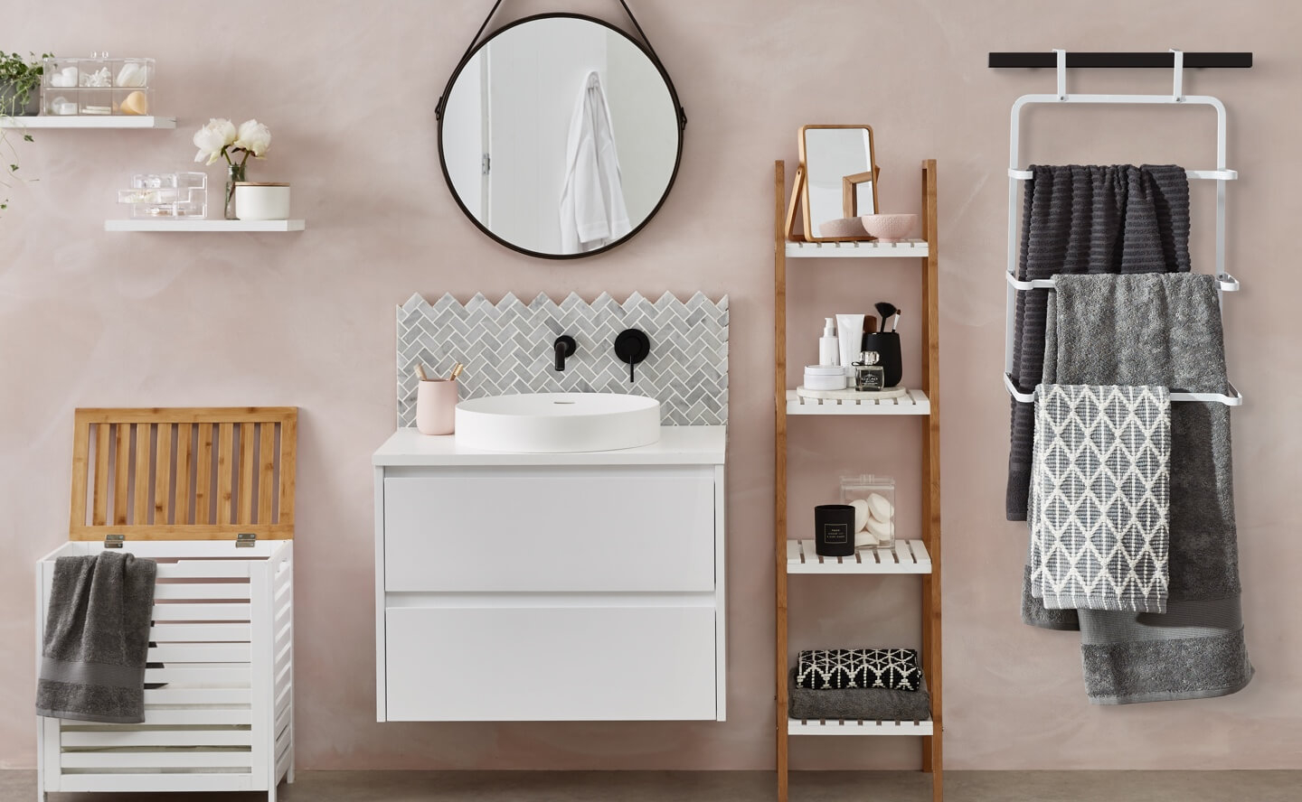 Best 15 Brilliant Bathroom Storage Ideas For Small Spaces for size 1440 X 888