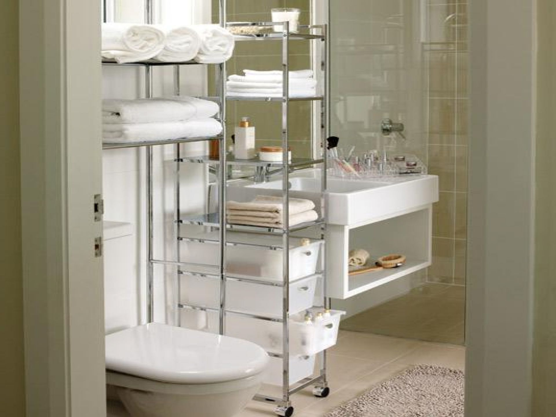 Best Modern Small Apartment Bathroom Storage Ideas Also with regard to proportions 1920 X 1440