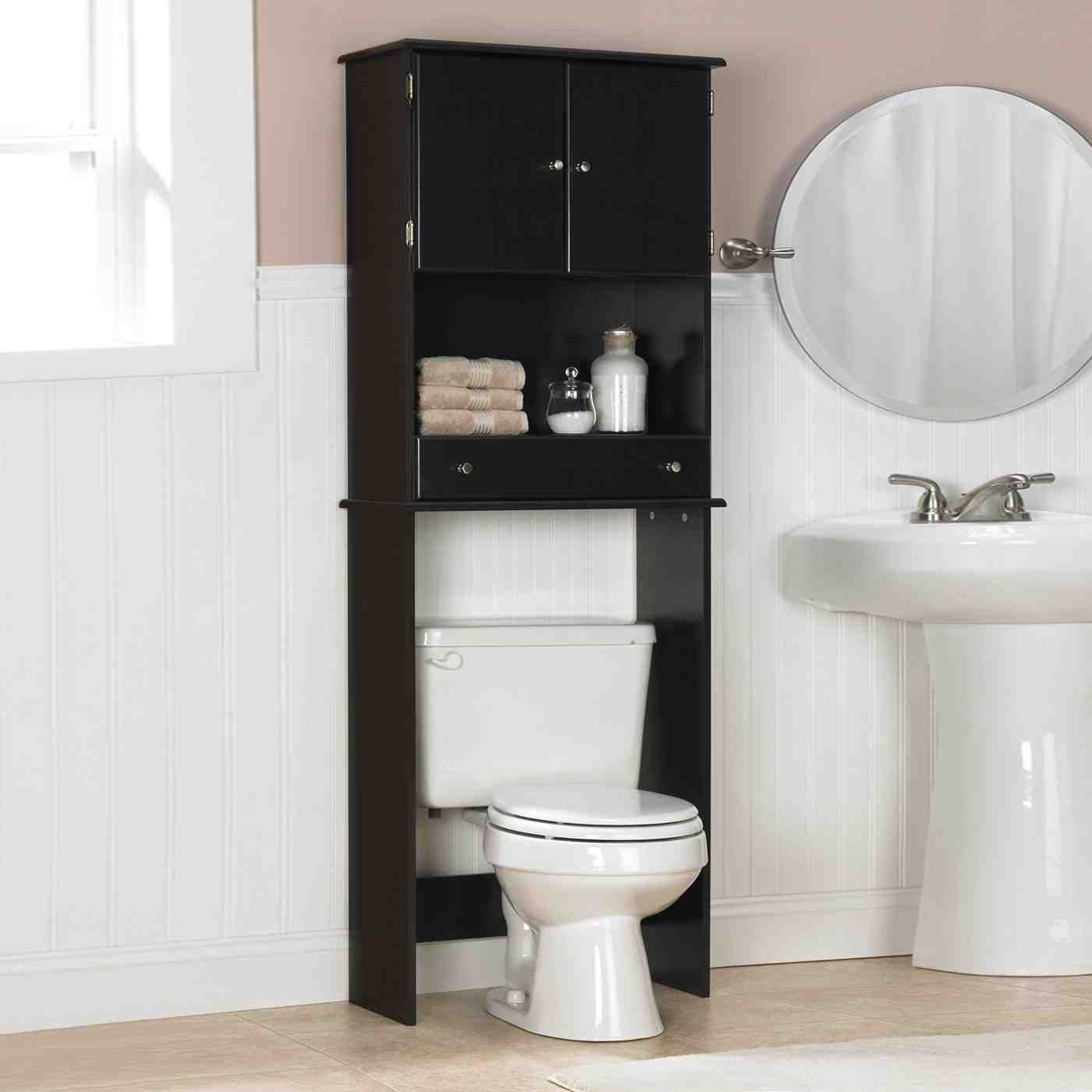 Black Bathroom Storage Cabinet Bathroom Storage Cabinets inside sizing 1400 X 1400