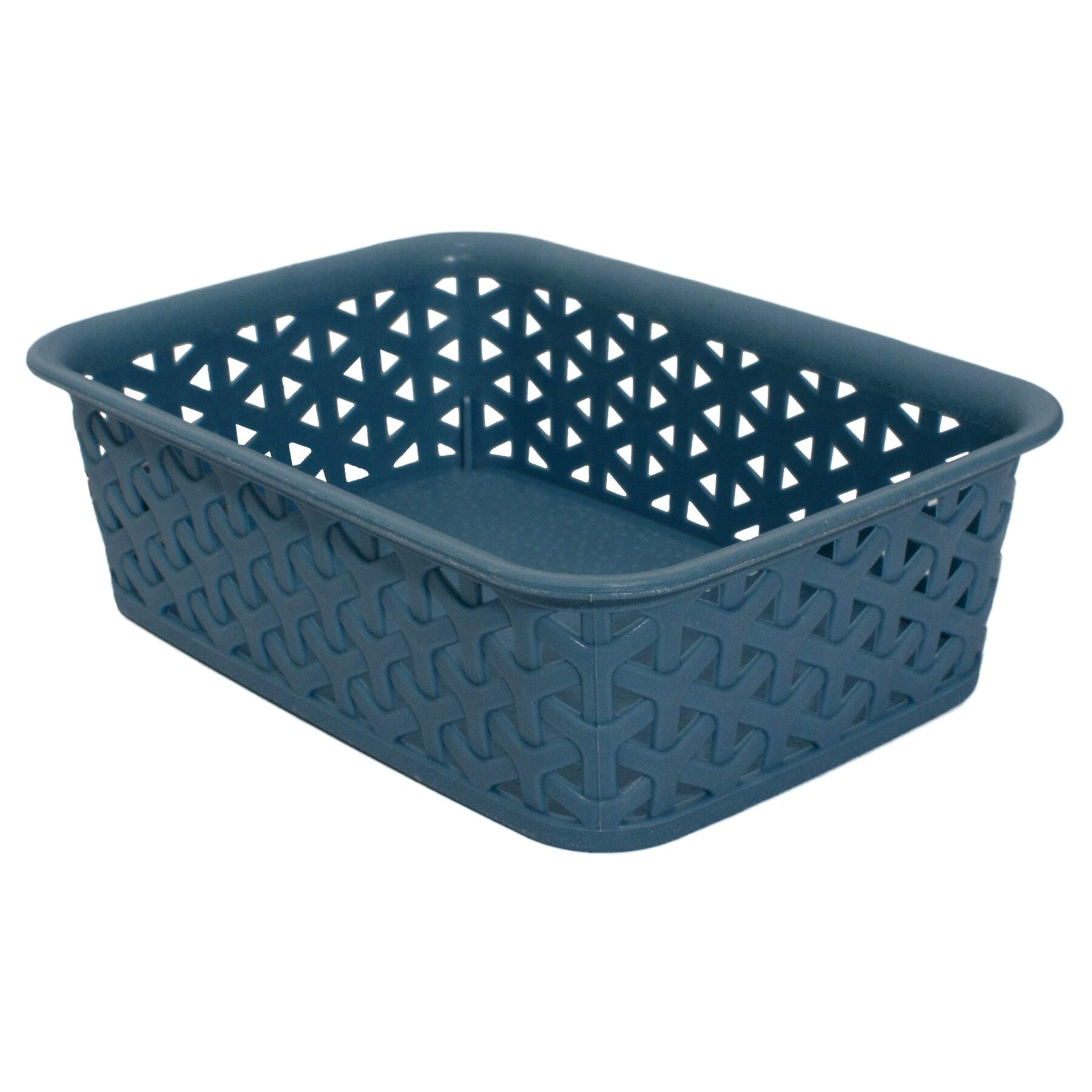 Blue Storage Baskets Ethercupco pertaining to measurements 1800 X 1800