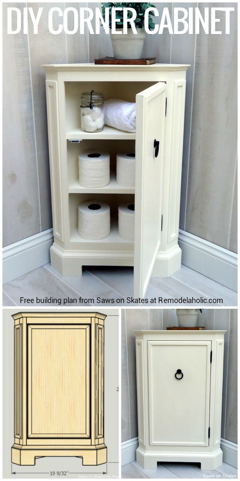 Build This Catalog Inspired Corner Cabinet With Free pertaining to size 800 X 1600