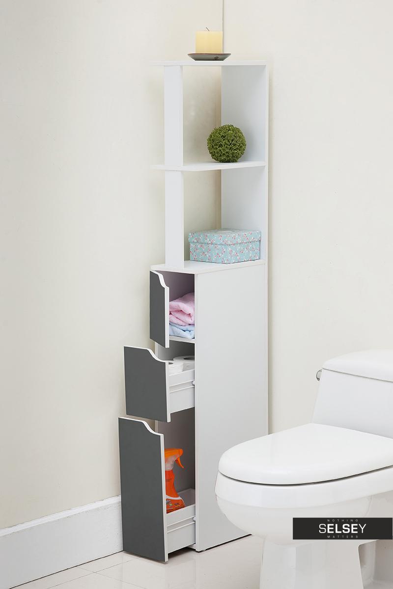 Carinda Grey Bathroom Storage Unit regarding proportions 800 X 1200