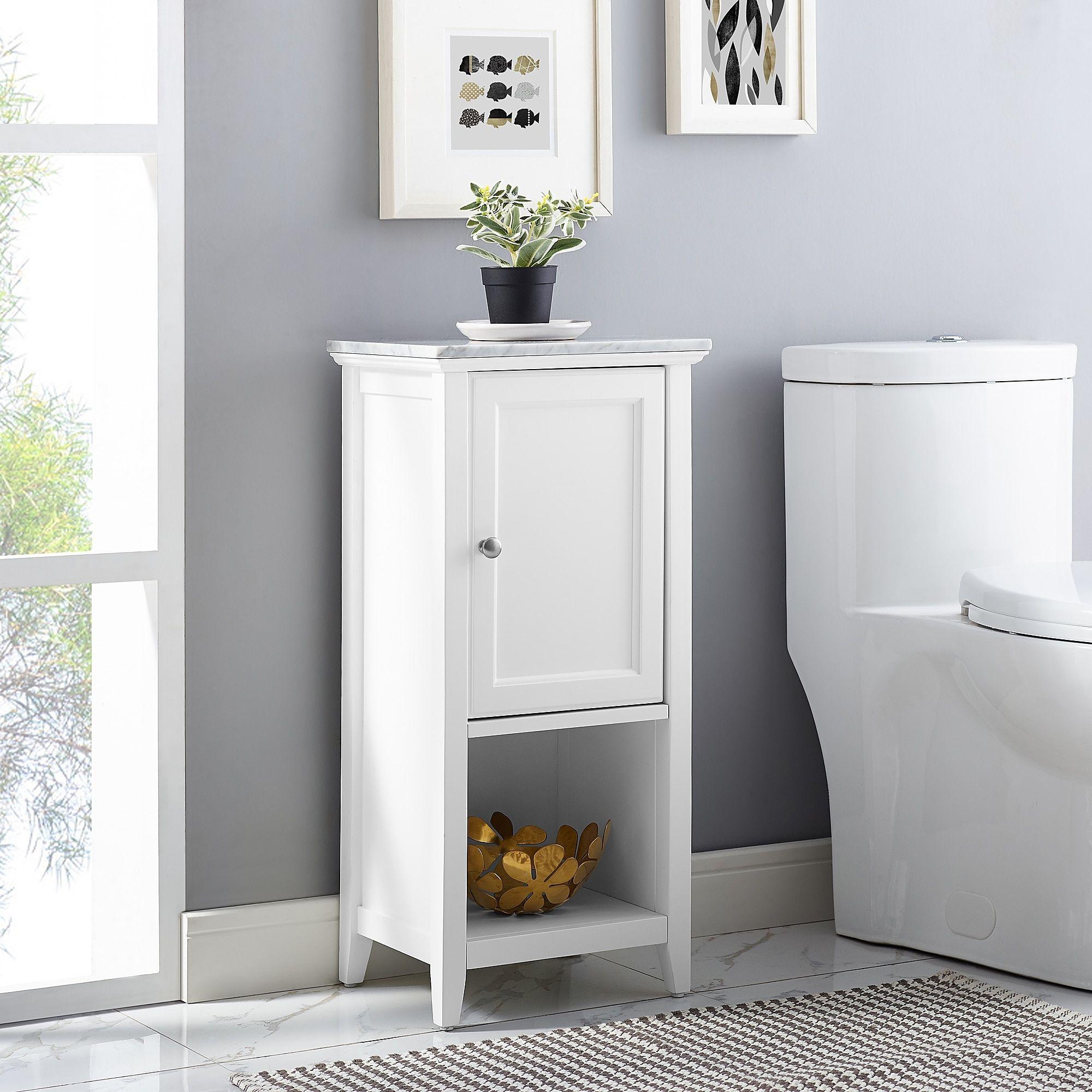 Carrara Marble Top Floor Cabinet Bed Bath Beyond Boys for measurements 2000 X 2000