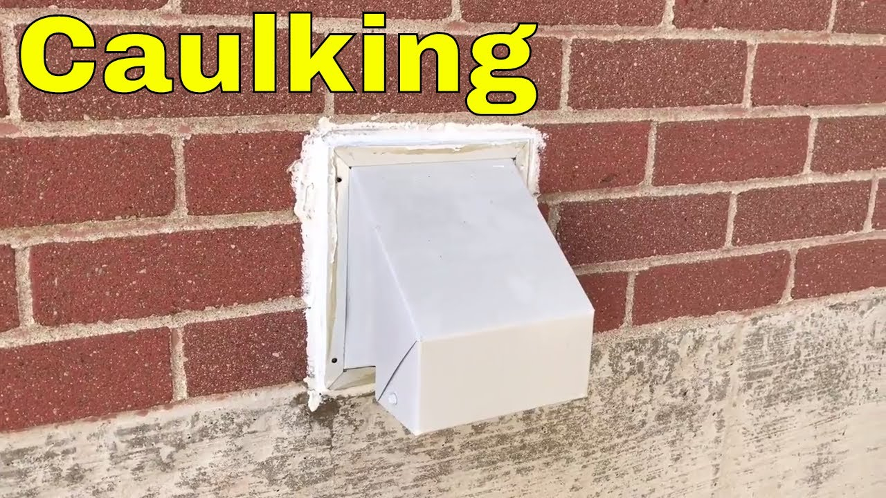 Caulking A Bathroom Fan Exhaust Vent To A Brick Wall pertaining to sizing 1280 X 720