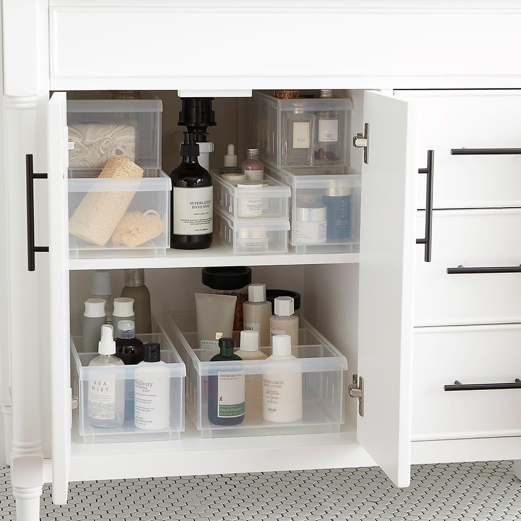 Clear Stackable Plastic Storage Bins Ways To Organize Your with proportions 1024 X 1024