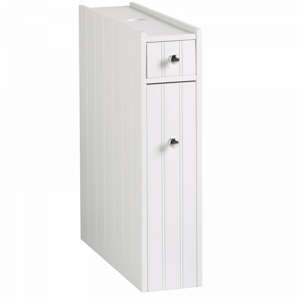 Colonial White Slimline Bathroom Storage Cupboard Unit inside proportions 1200 X 1200