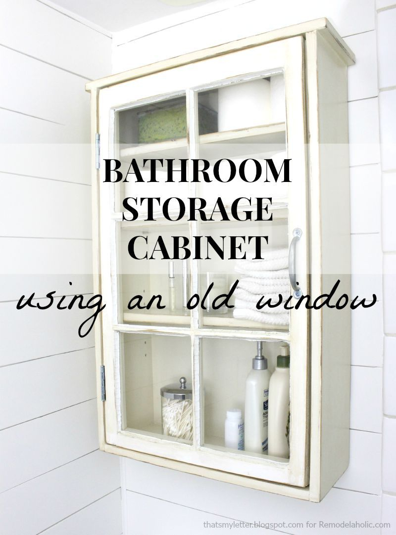 Create A Stylish And Unique Bathroom Storage Cabinet Using within dimensions 800 X 1082