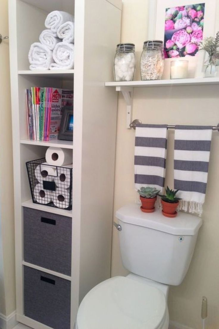 Creative Bathroom Storage Solutions For Small Bathrooms And pertaining to measurements 736 X 1104