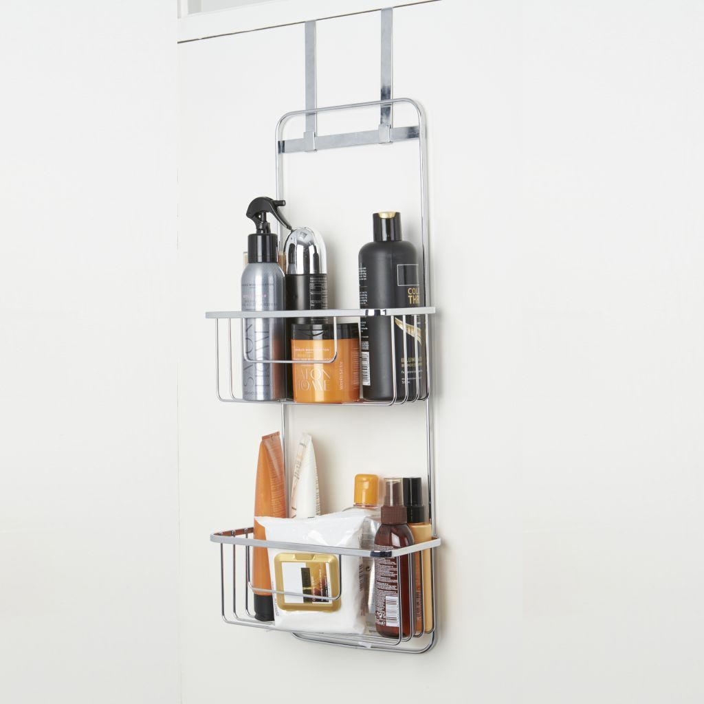 Croydex Over Door Bathroom Storage Caddy Rack in dimensions 1024 X 1024