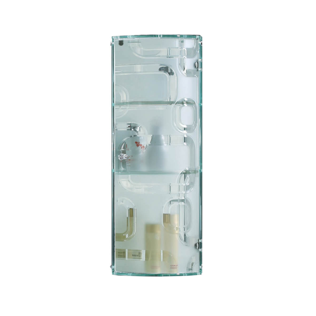 Crystal Glass Wall Mounted Bathroom Storage Cabinet Locker throughout dimensions 1200 X 1200