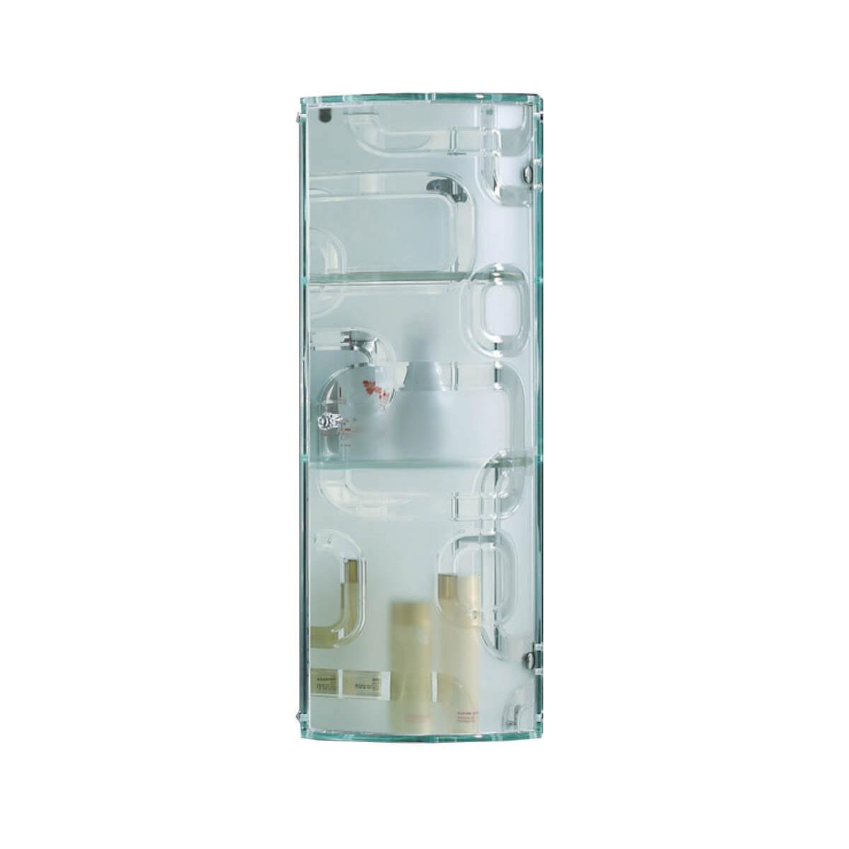 Crystal Glass Wall Mounted Bathroom Storage Cabinet Locker throughout dimensions 1200 X 1200