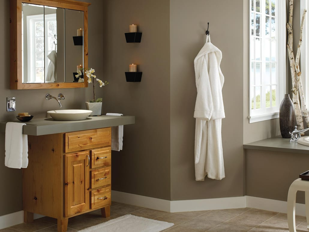 Designing A Modern Rustic Bathroom Bertch Cabinet Manfacturing throughout sizing 1030 X 773