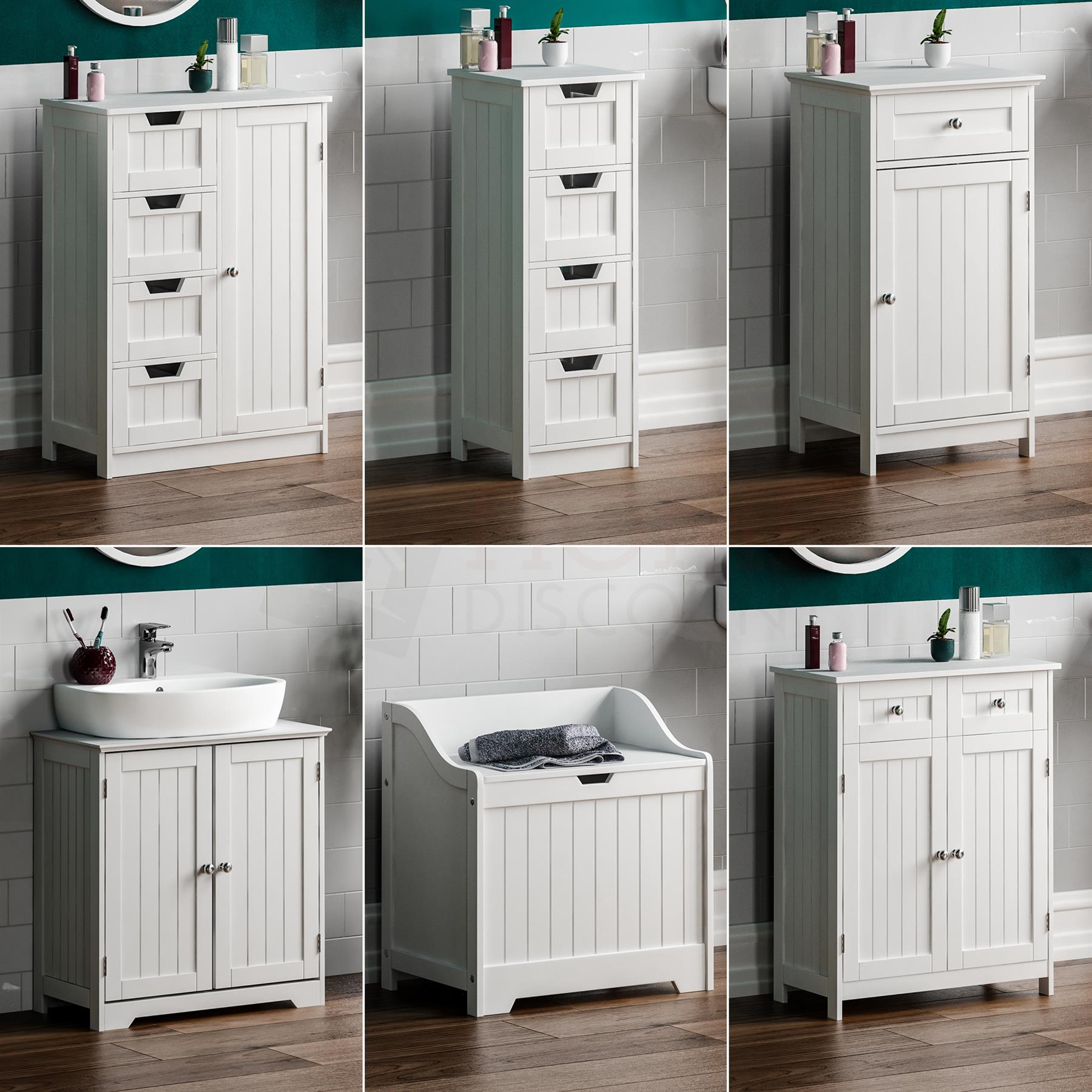 Details About Bathroom Cabinet Freestanding Cupboard Drawer Storage White Furniture Mdf Unit for dimensions 1800 X 1800