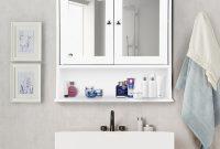 Details About Bathroom Storage Mirror Cabinet Wall Mount Toilet Medicine Vanity Shelf Cupboard for proportions 1000 X 1000