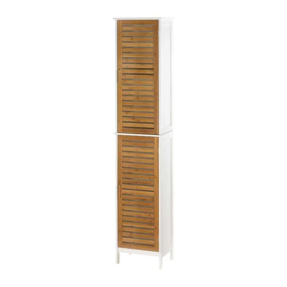 Details About Modern Kitchen Storage Cabinets Brown Bathroom Cabinet With Storage Wood within dimensions 1000 X 1000