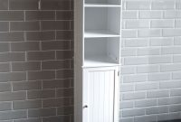 Details About Priano Bathroom Tall Cabinet Shelving Cupboard Storage Unit Furniture White for size 1800 X 1800
