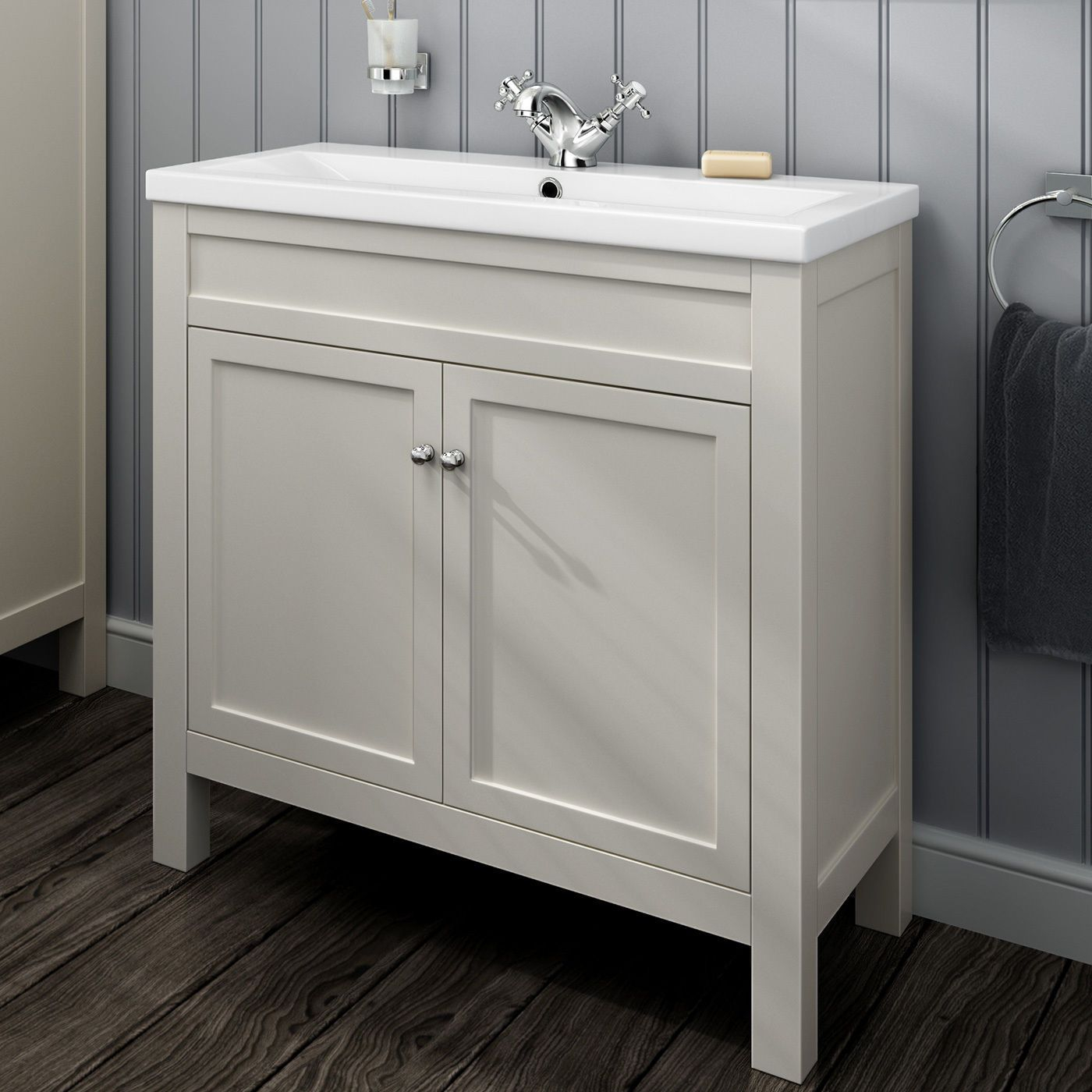 Details About Traditional Bathroom Storage Vanity Units for size 1400 X 1400