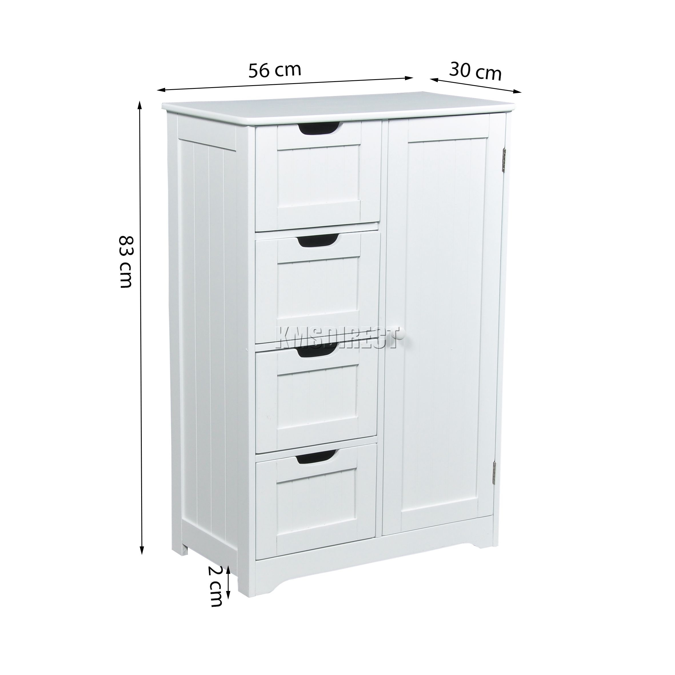 Details About Westwood Bathroom Storage Cabinet Wooden 4 for measurements 2362 X 2362