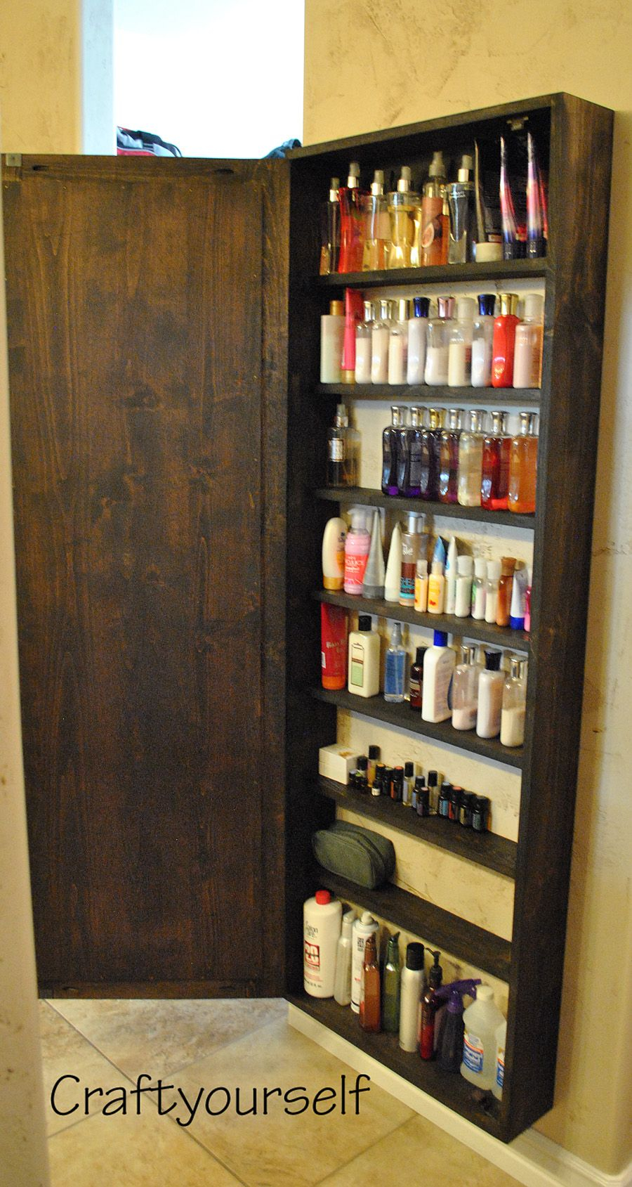 Diy Bathroom Cabinet With Mirror House And Home Things in dimensions 900 X 1689