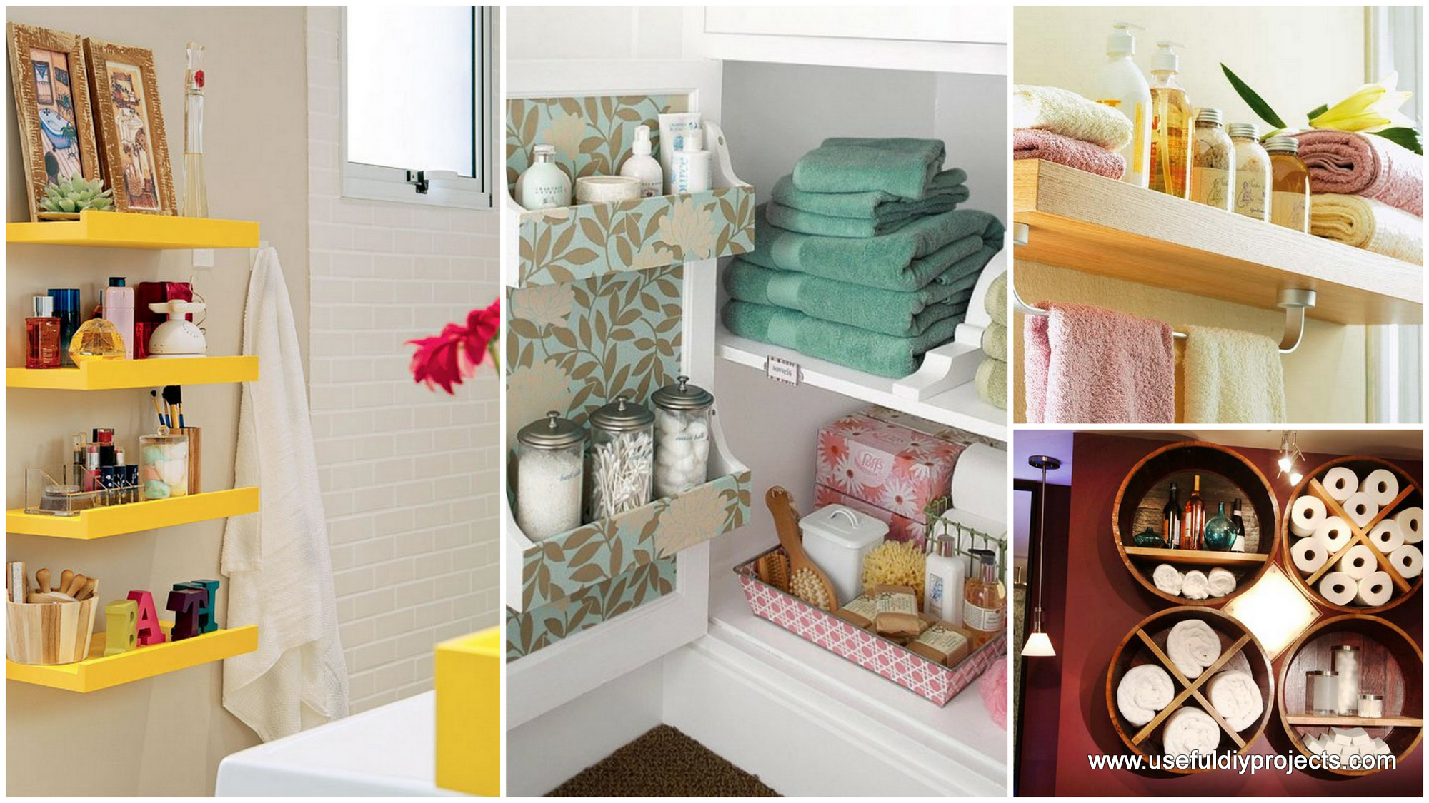 Diy Bathroom Storage Ideas intended for proportions 2000 X 1125