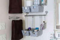 Diy Hanging Storage Bins For Over The Toilet Storage for measurements 1365 X 2048