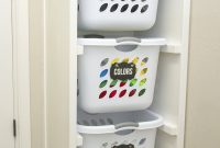 Diy Laundry Basket Organizer Built In House Laundry in proportions 1000 X 1500