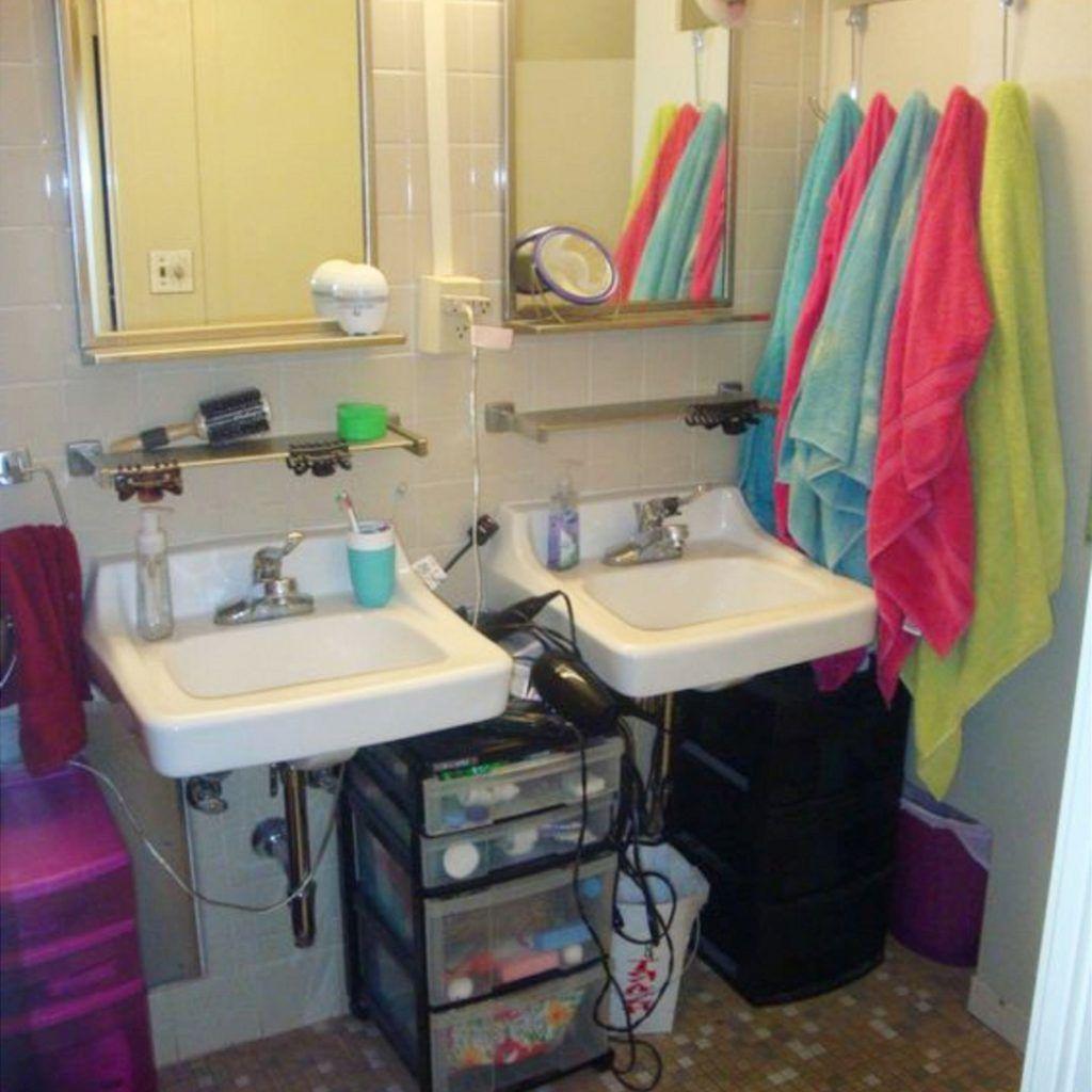Dorm Bathroom Ideas Survival Hacks Diy Dorm Bathroom with regard to size 1024 X 1024