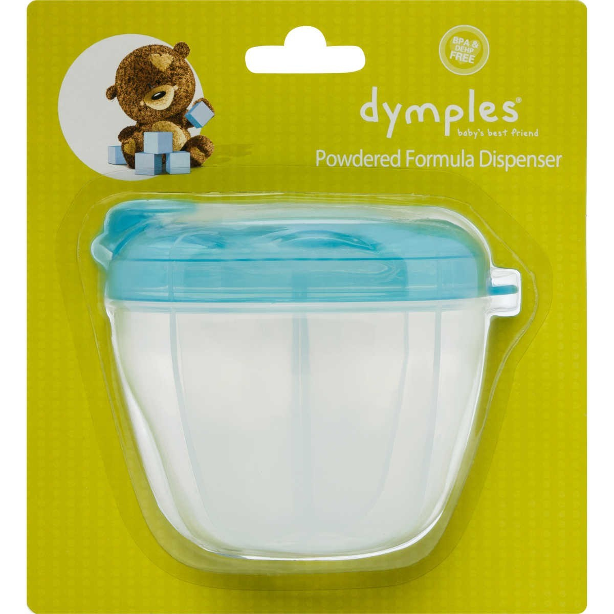 Dymples Powdered Formula Dispenser in measurements 1200 X 1200