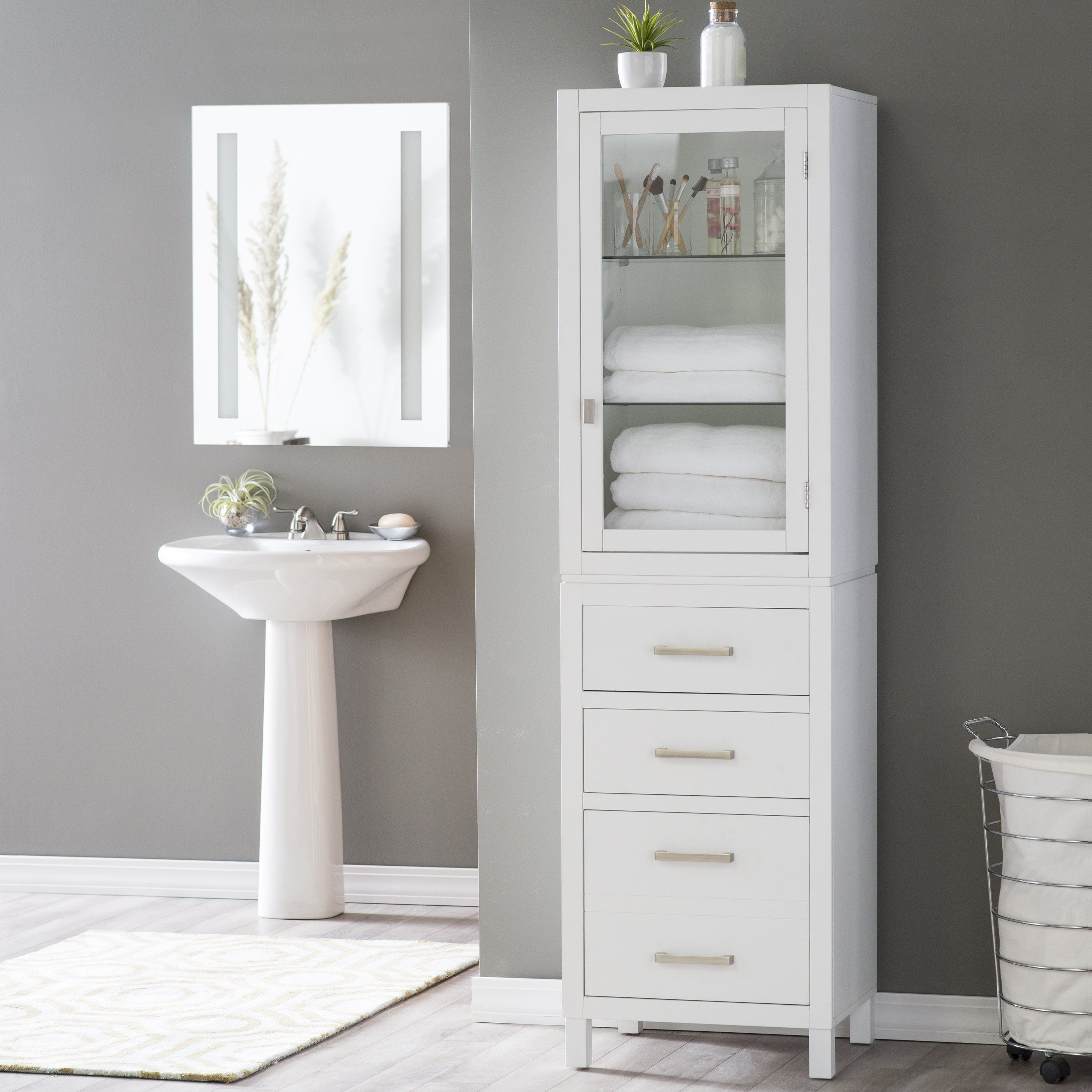 Elegant Bathroom Interesting Bathroom Storage Furniture throughout measurements 3200 X 3200