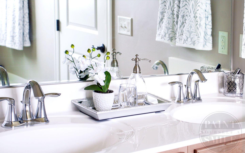 Excellent Bathroom Countertop Storage Ideas Quartz pertaining to size 1440 X 900