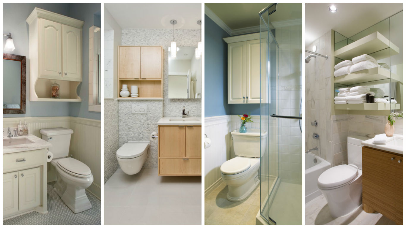 Extra Storage Over The Toilet 15 Practical Ideas That Will throughout size 1366 X 768