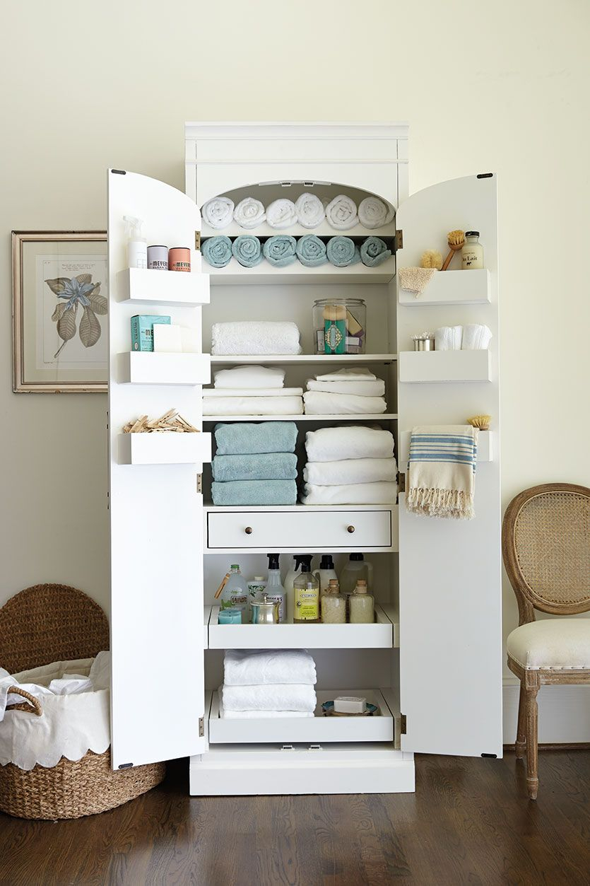 Freestanding Cabinet For Craft Linen Storage in dimensions 835 X 1253