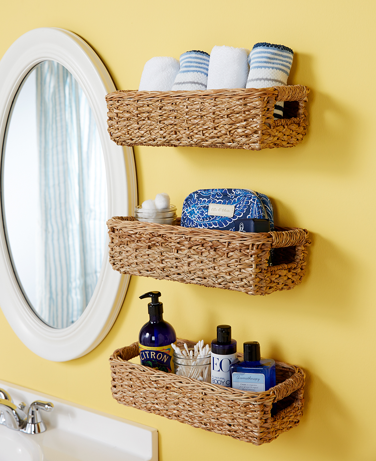 Hacks To Make The Most Of Your Tiny Bathroom Better Homes in proportions 1200 X 1472