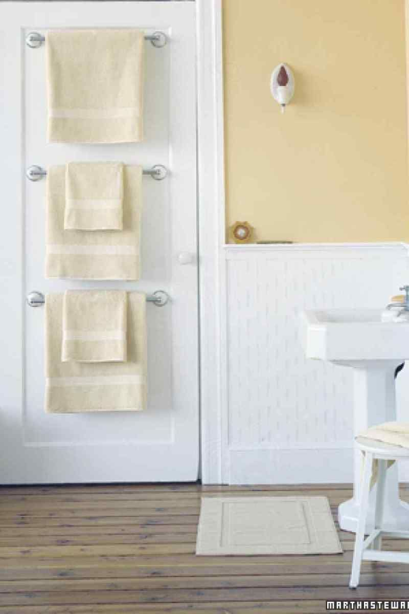Ideas To Save Space And Add Towel Storage In A Small pertaining to proportions 800 X 1200